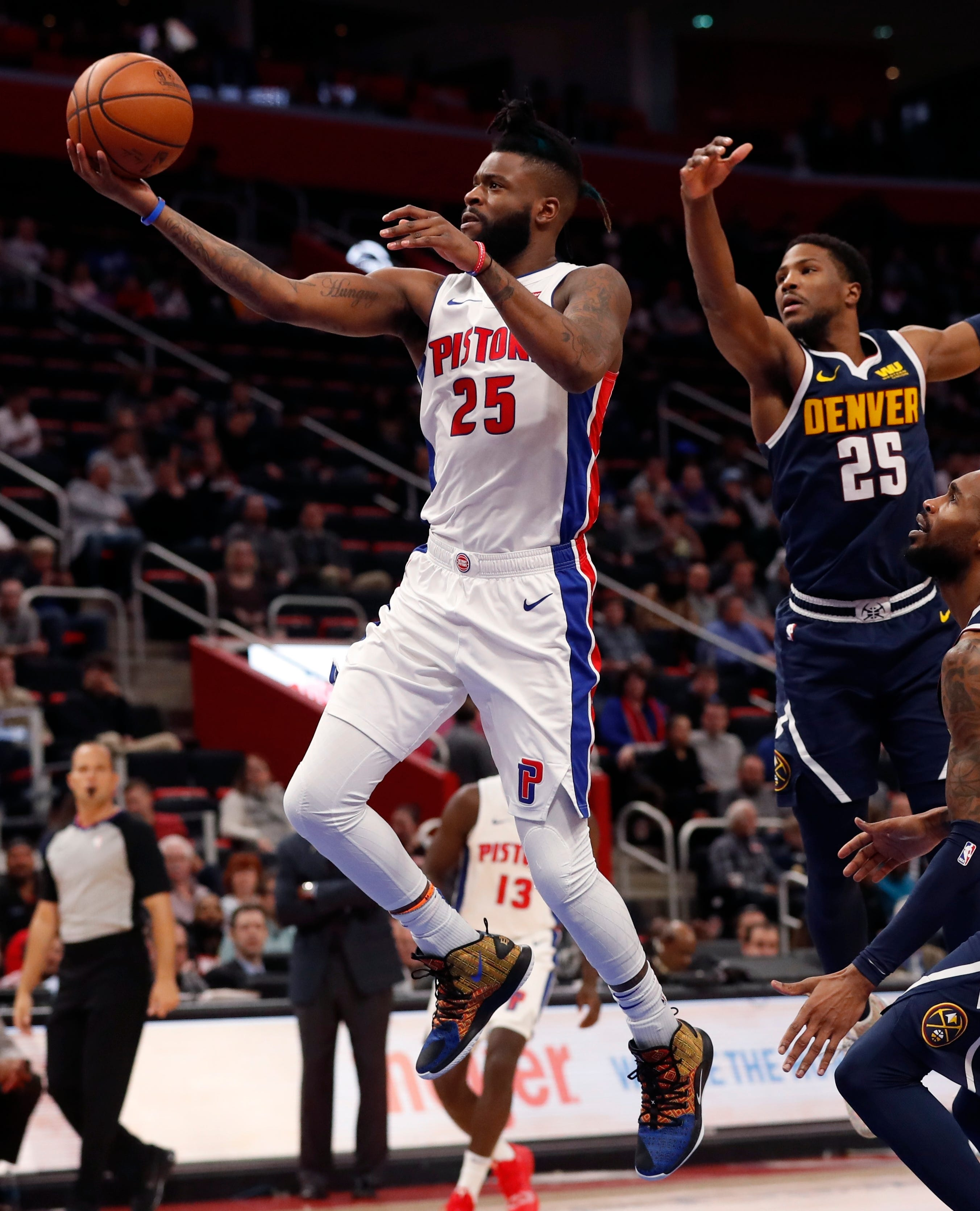 Unloading guard Reggie Bullock in exchange for second-round picks might not be in the Pistons' best interests.