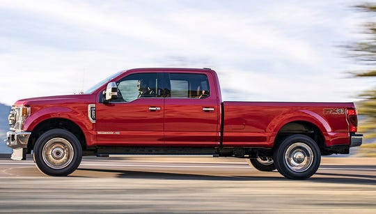 Ford's 2020 Super Duty pickup.