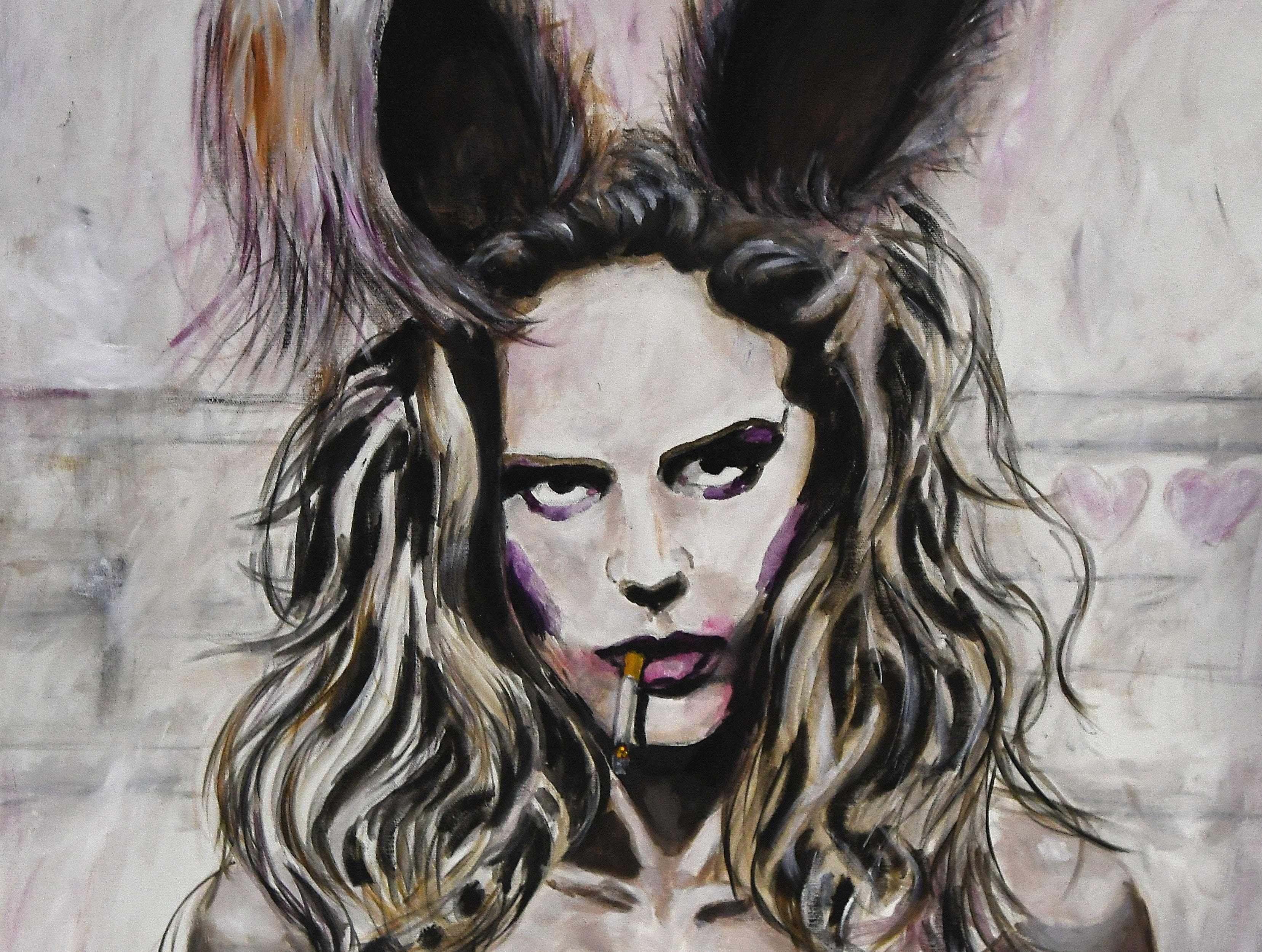Dirty Show entry 'Bad Bunny' by artist Peter Martin of Austria.