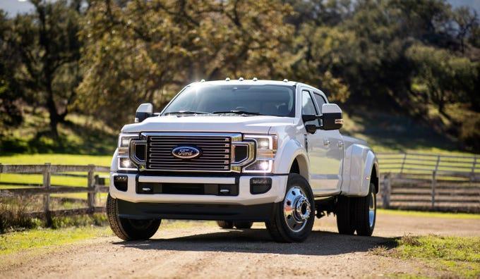 2020 Ford Super Duty trucks