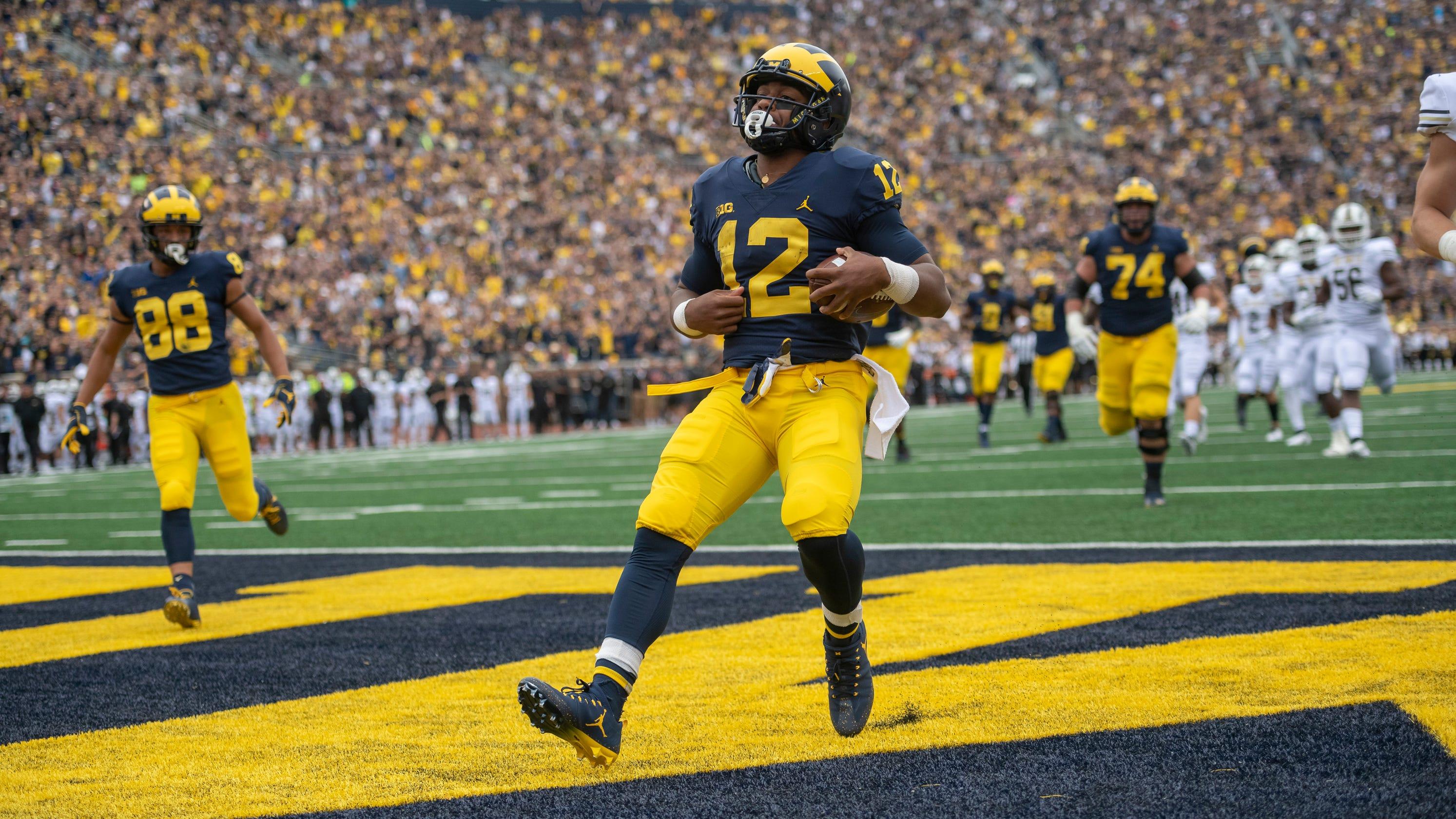 Top Running Back Chris Evans No Longer On Michigan Football Team