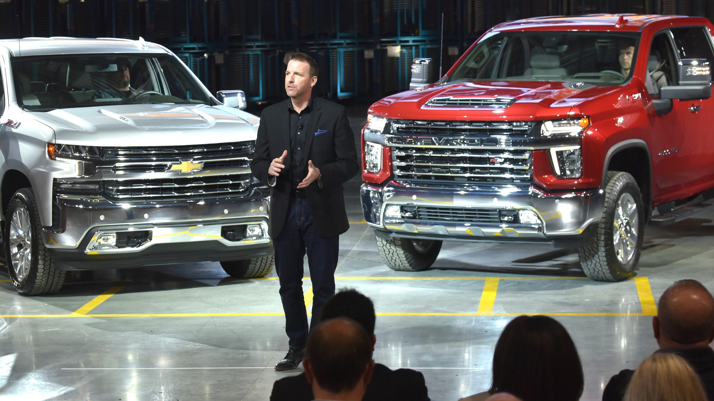 Chevrolet premieres heavy-duty Silverado in Flint