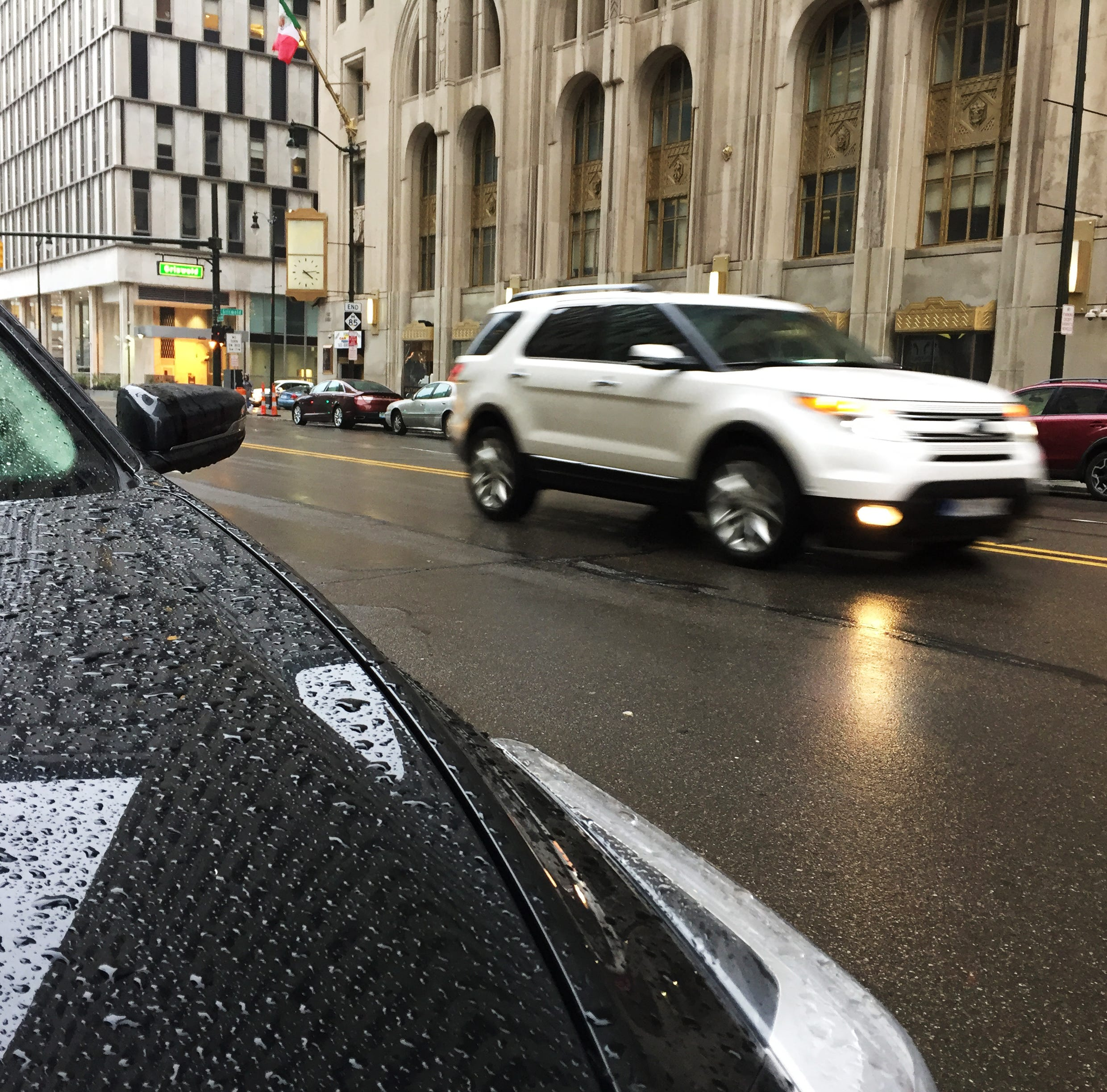 Forecast: freezing rain, 'treacherous and slick travel conditions'
