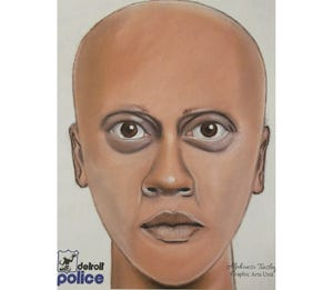 A composite sketch was released of a person police say is suspected in a fatal shooting of a man and the injury of his companion on Jan. 19 in the 16000 block of East Warren.