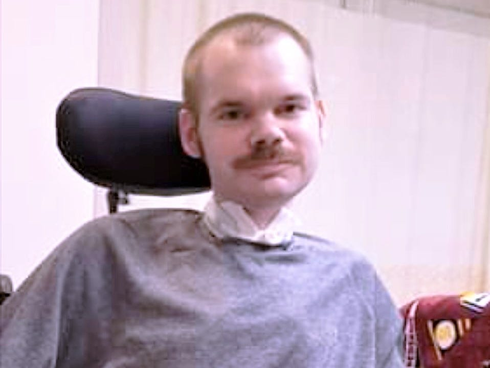 Alan Ramsay has been confined to a wheelchair since around 2010 due to the debilitating effects of muscular dystrophy.