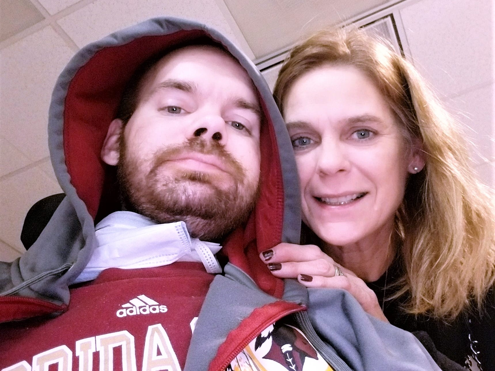 Stacy Evans of Horseheads devotes much of her time to caring for her son Alan Ramsay, who has muscular dystrophy.