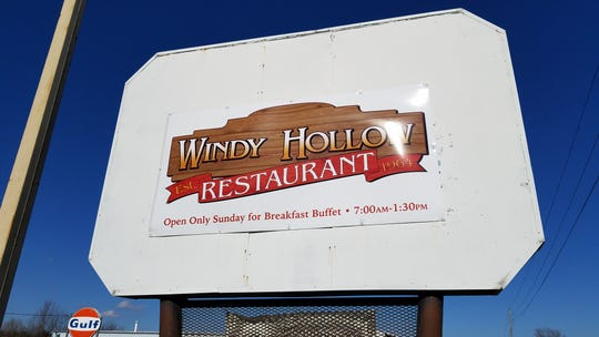 The Windy Hollow restaurant is located just south of Owensboro, Ky.