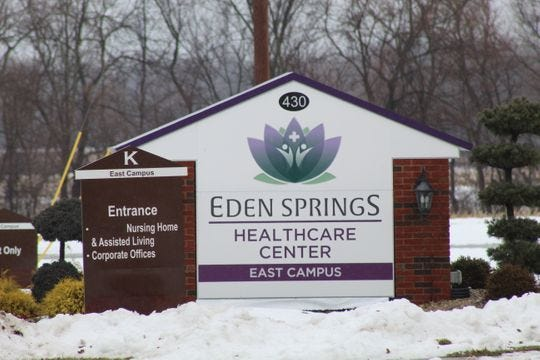 Eden Springs has been put into a receivership and is trying to pay off several overdue utility and pharmacy bills, as well reduce its tax delinquency with the Sandusky County treasurer's office.