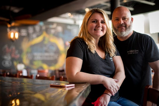 Chad and Amber Zollinger own 10 Twenty Five in Cape Coral and a new location in downtown Fort Myers.