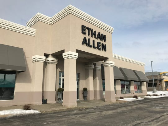 Ethan Allen Interiors, 2350 S. Oneida St., has started a store closing sale.