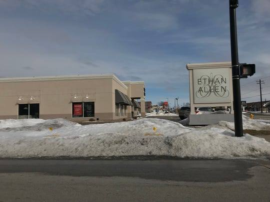 Ethan Allen Interiors' Ashwaubenon store, seen here, is one of two in Wisconsin. The company has begun a store closing sale.