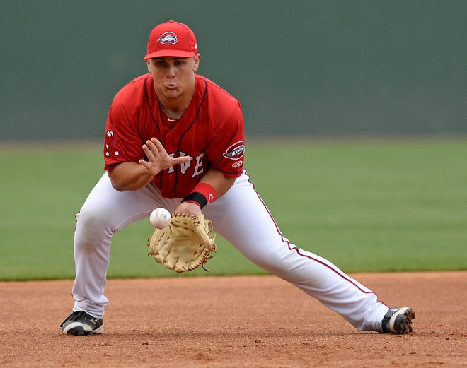 Michael Chavis takes, who played for the Greenville Drive in 2015 and 2016, is Boston's top-rated prospect entering the 2019 season.
