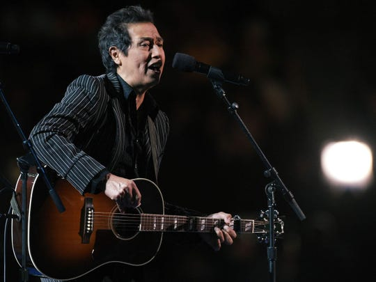 "Alejandro Escovedo, pictured during the 2008 Democratic National Convention, brought his tour to promote 2018 album ""The Crossing"" to the Hi-Fi."
