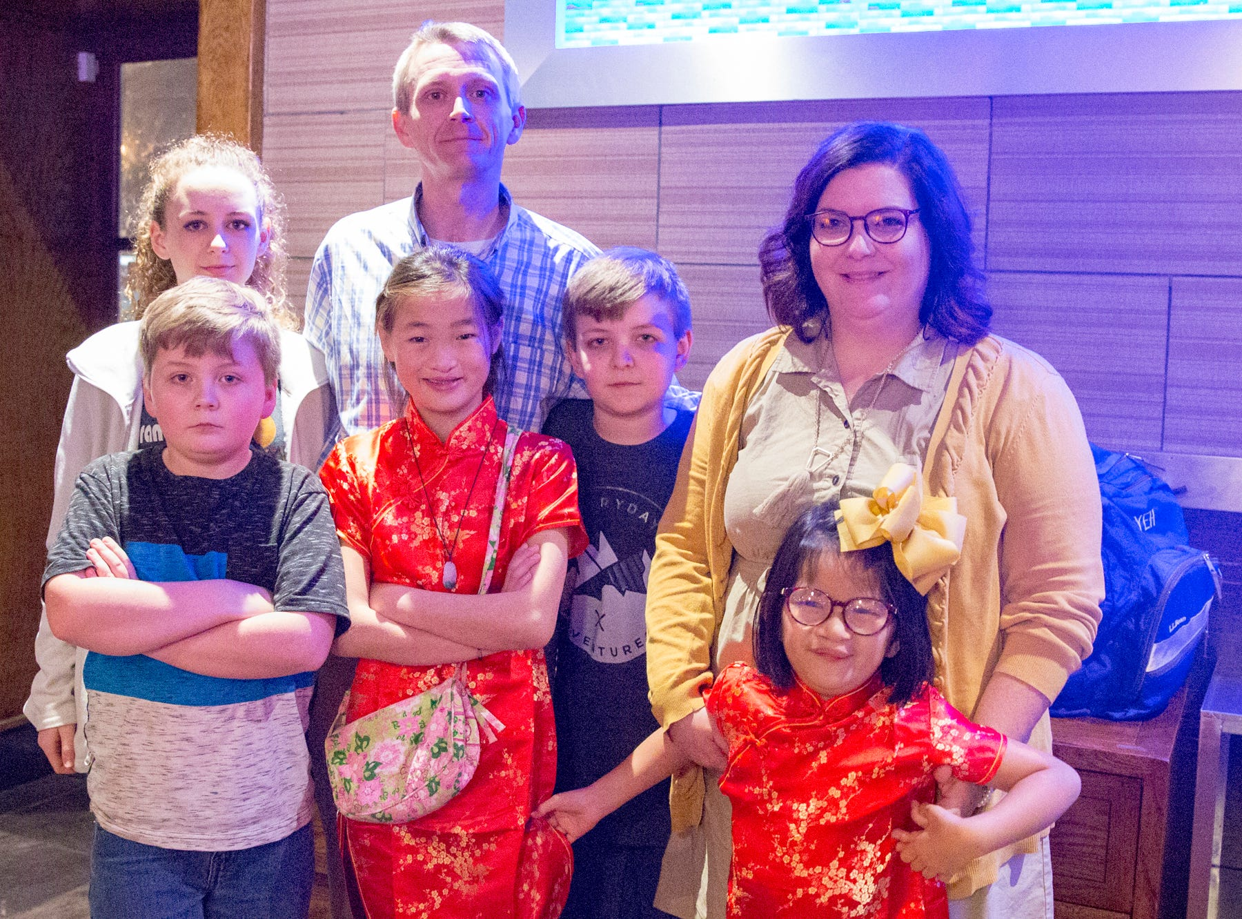 Chinese New Year celebrated at Asian Garden, Monday, Feb. 4.