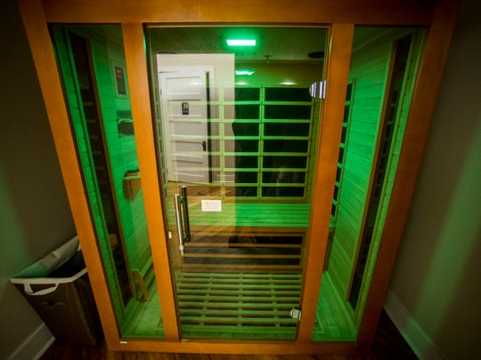The Old City MedSpa in downtown Knoxville has an infrared sauna room.