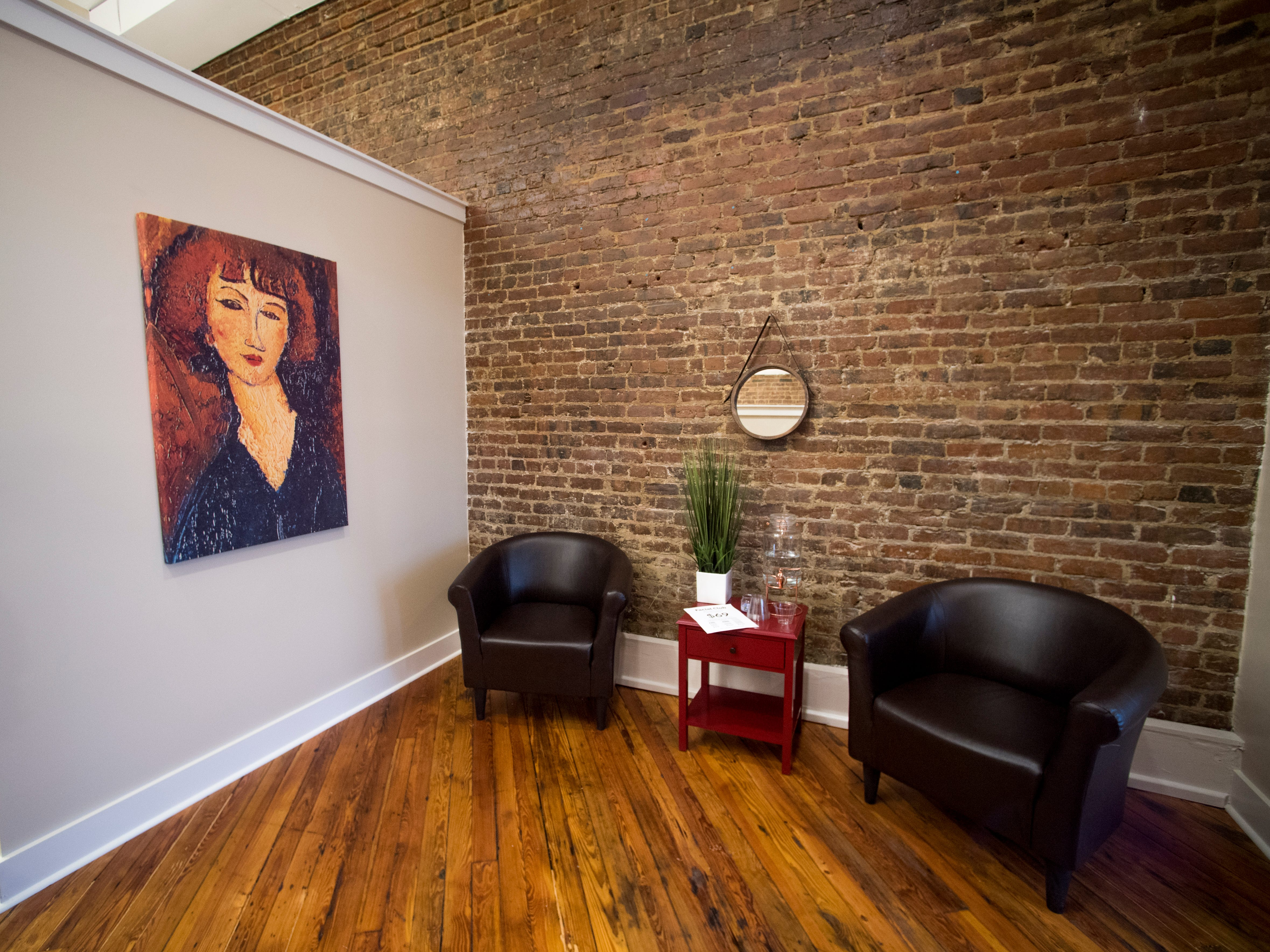 Inside the Old City MedSpa in downtown Knoxville on Monday, February 4, 2019.