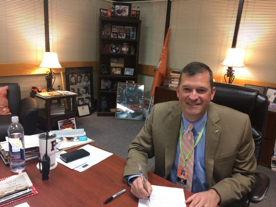 Dr. Chad Smith, principal at Powell High School, is focused on doing the best for his students every day.