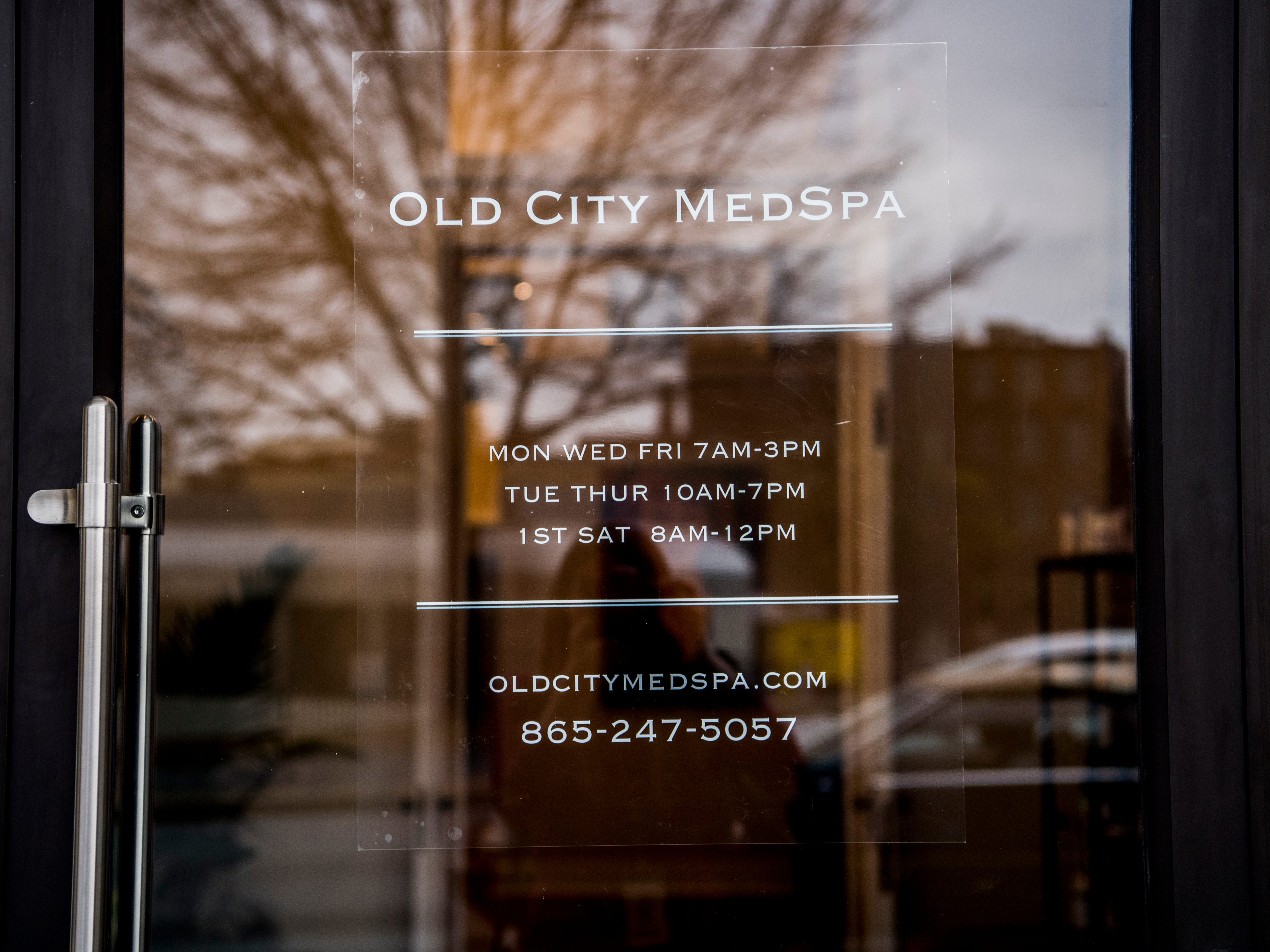 The Old City MedSpa in downtown Knoxville on Monday, February 4, 2019.