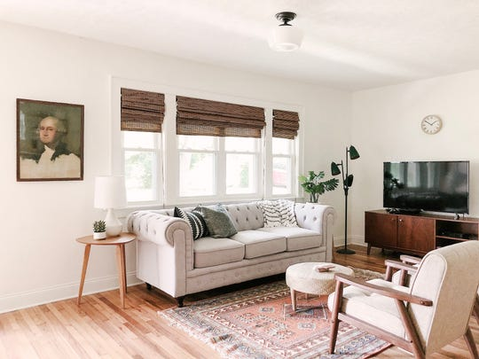 An East Knoxville home for rent on Airbnb. It is managed by Knox Staytion, a short-term rental company owned by Dylan and Suzanne Robinson.