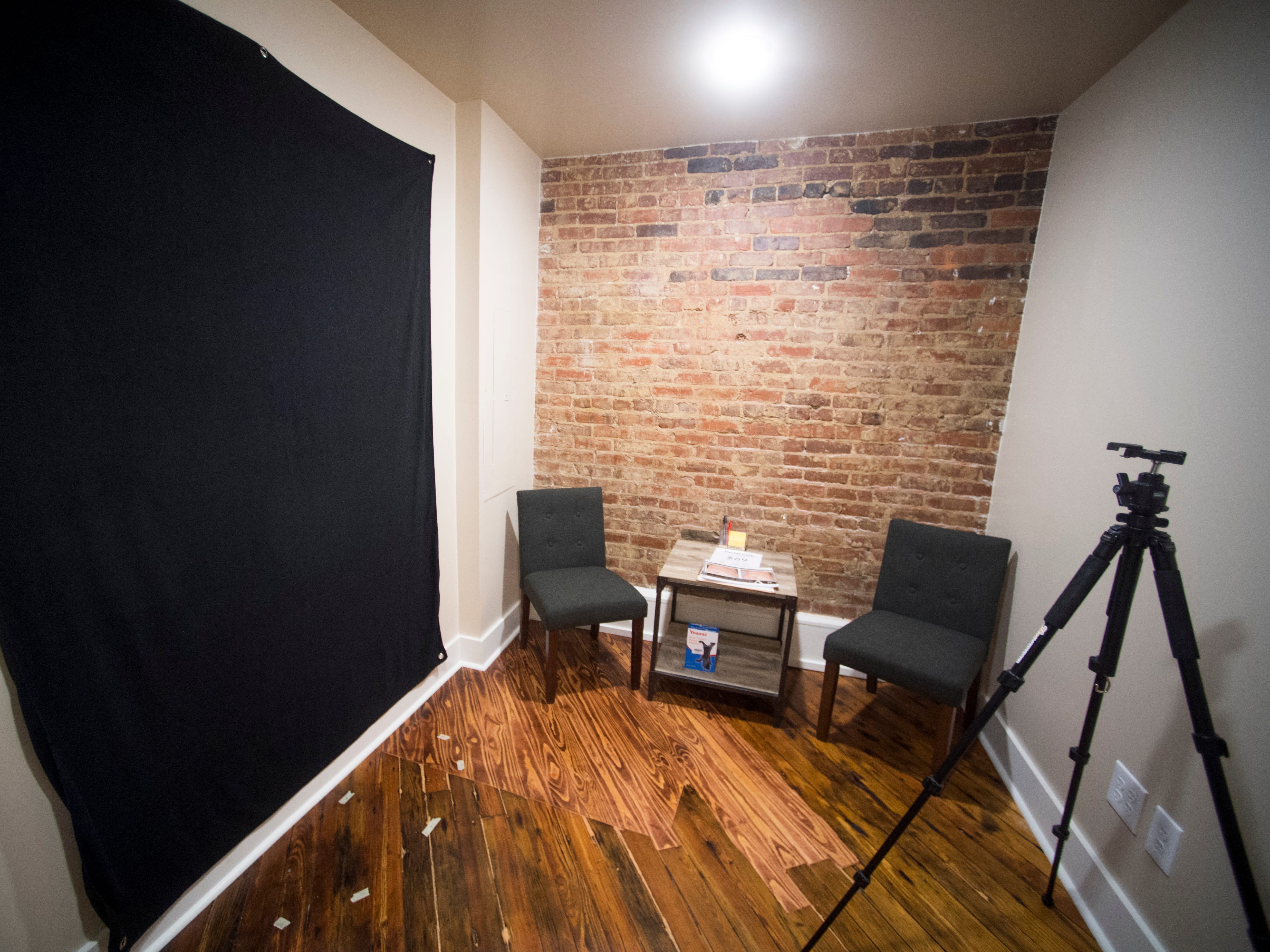 The consultation room at Old City MedSpa in downtown Knoxville on Monday, Feb. 4, 2019