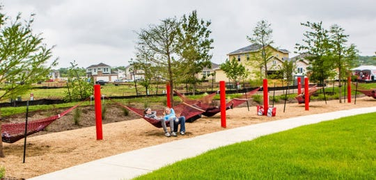 One of the unique features of the greenway could be a hammock garden.