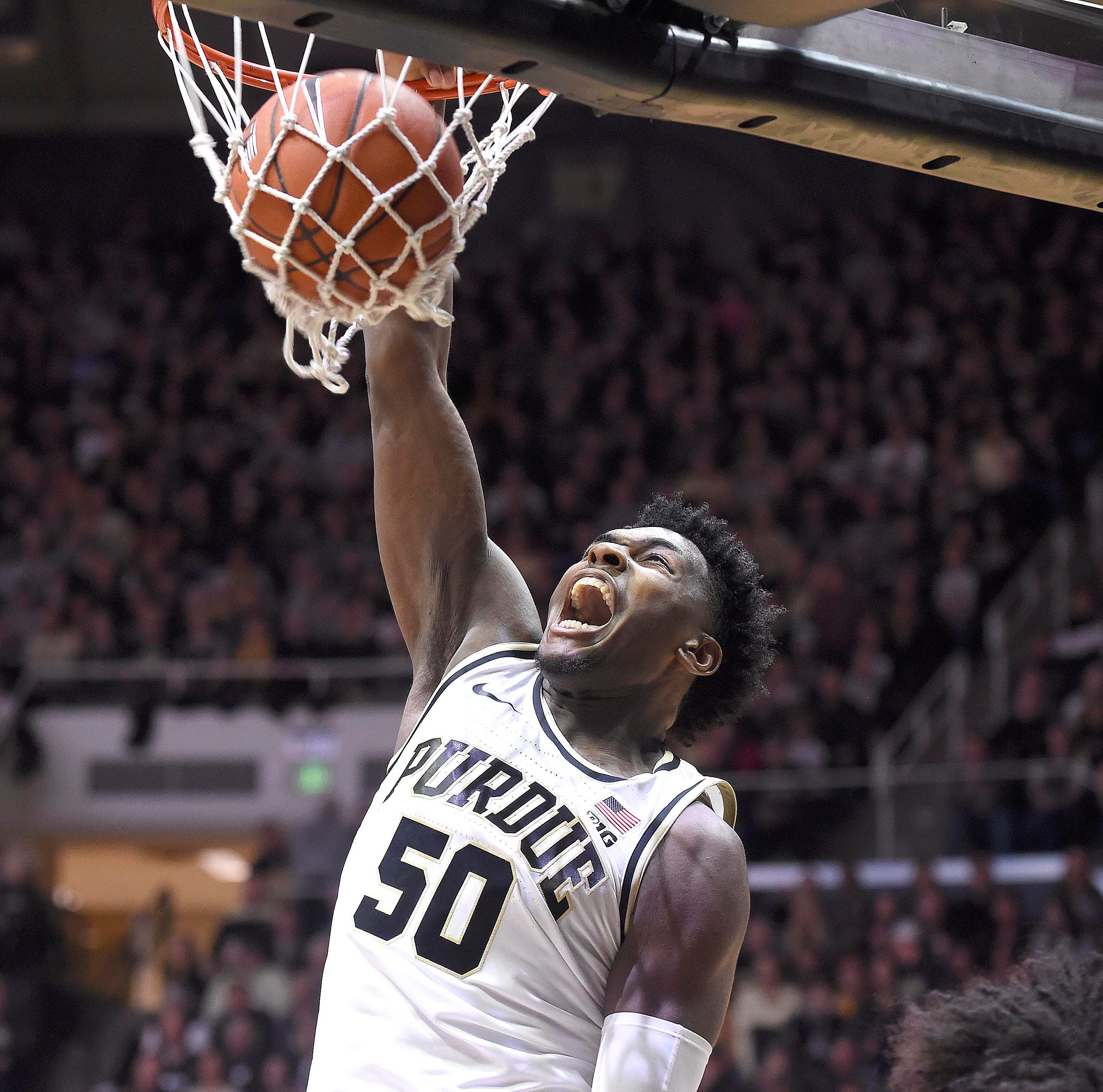 Purdue's Trevion Williams once left Chicago's gun violence. He returns as a rising star.