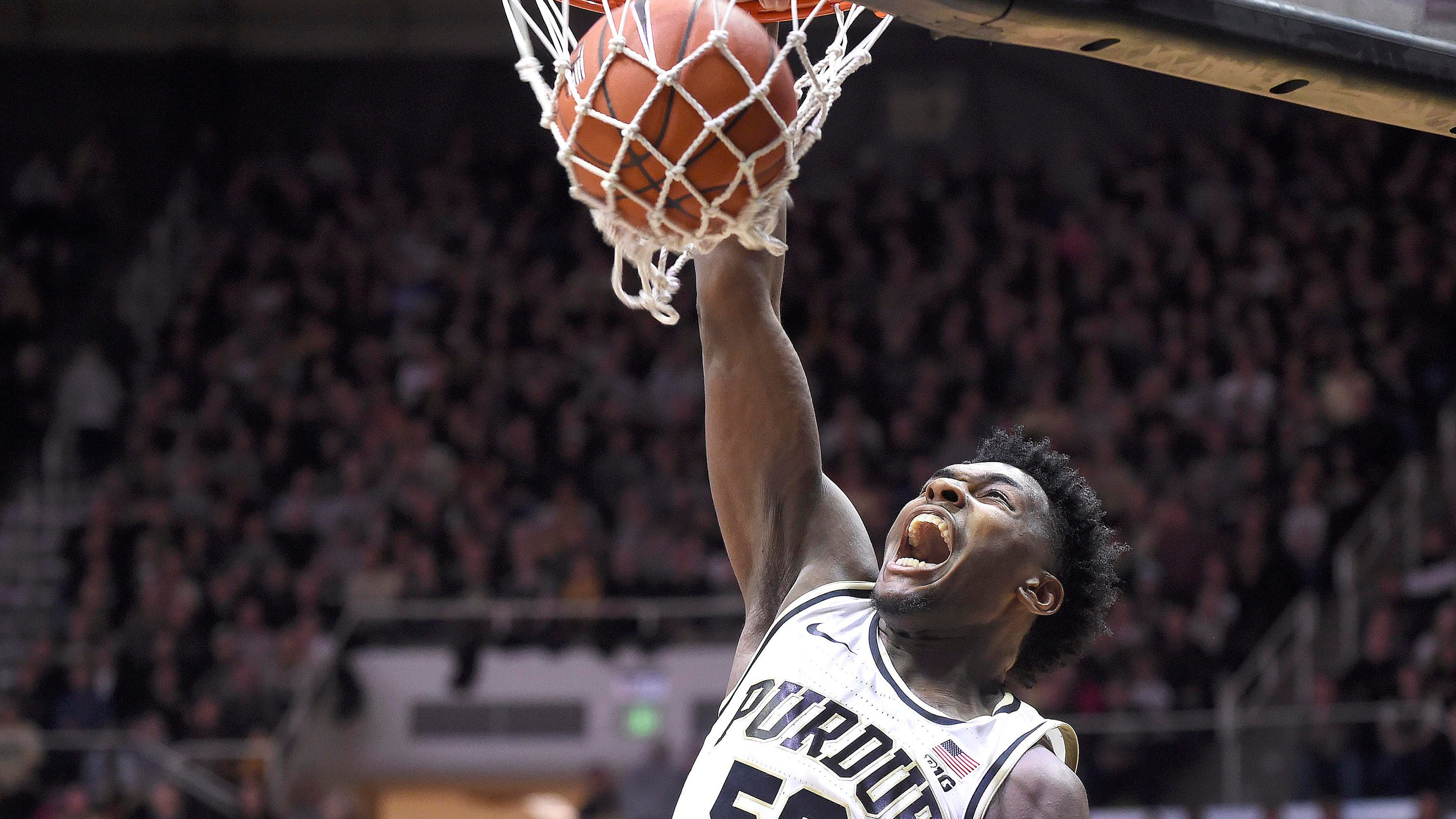 26c6a5034ccc Purdue s Trevion Williams once left Chicago s gun violence. He returns as a  rising star.