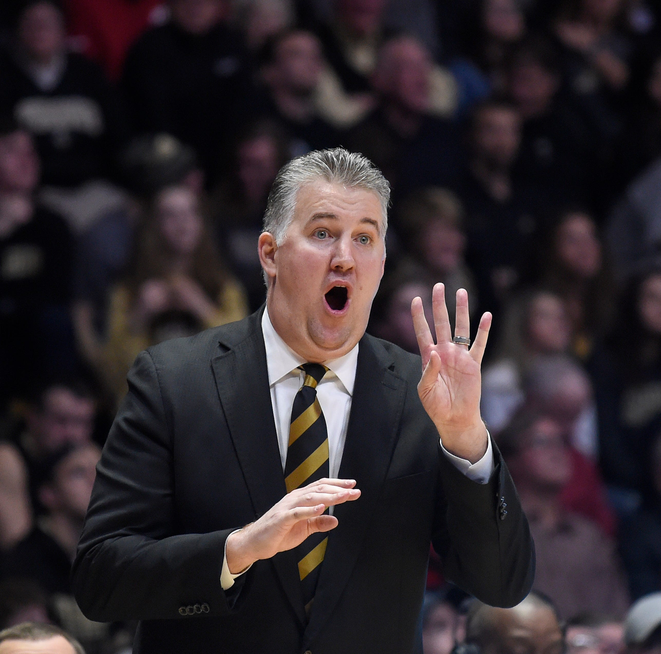 Purdue basketball's Matt Painter wins Big Ten Coach of the Year for fourth time