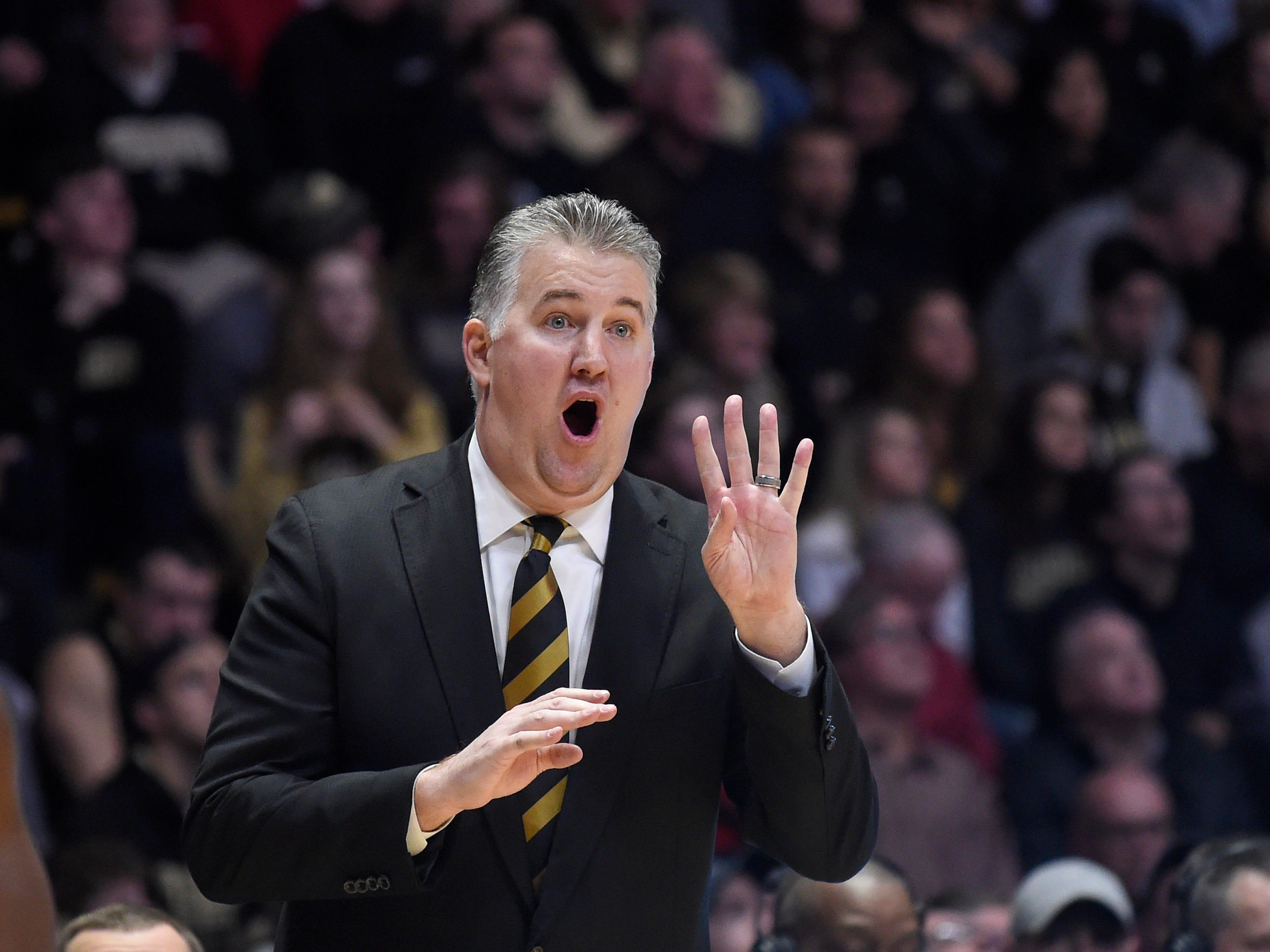 Boilermakers coach Matt Painter is in his 15th season leading Purdue.