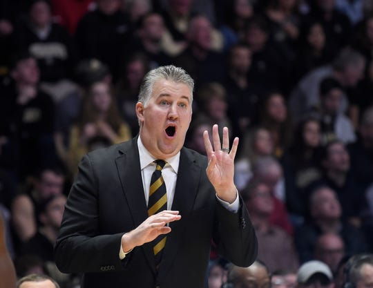 Boilermakers coach Matt Painter is in his 15th season leading Purdue.