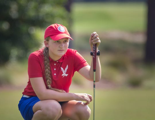 Former Lexington student Nicole Adam, a 16-year-old high school junior in North Carolina, committed to the University of North Carolina as a ninth-grader and will be receiving a full golf scholarship.
