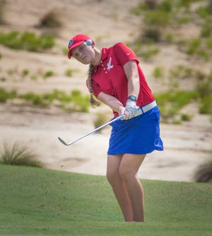 Former Lexington student and standout golfer Nicole Adam was recently named the Junior Player of the Year in North Carolina.