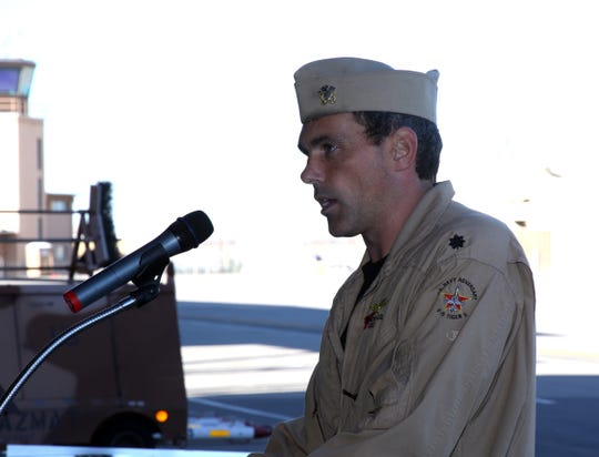 Marion native Andrew Craig now serves as commander of Fighter Squadron Composite 13.