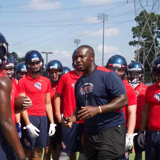 Marlon Walls, former defensive coordinator at St. Benedict, has been named head coach of the Eagles.
