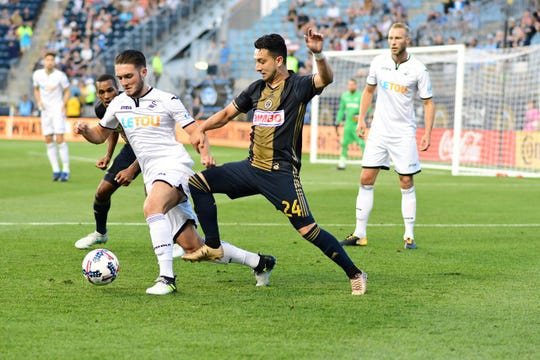 Midfielder Adam Najem (24) has signed with the Memphis 901 FC, the club announced Tuesday.