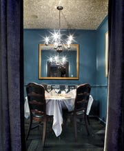 Folk's Folly has several private dining rooms, perfect for a romantic dinner date.