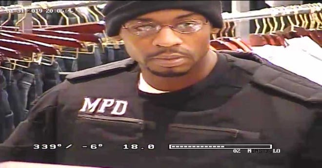MPD is investigating a man impersonating an officer.