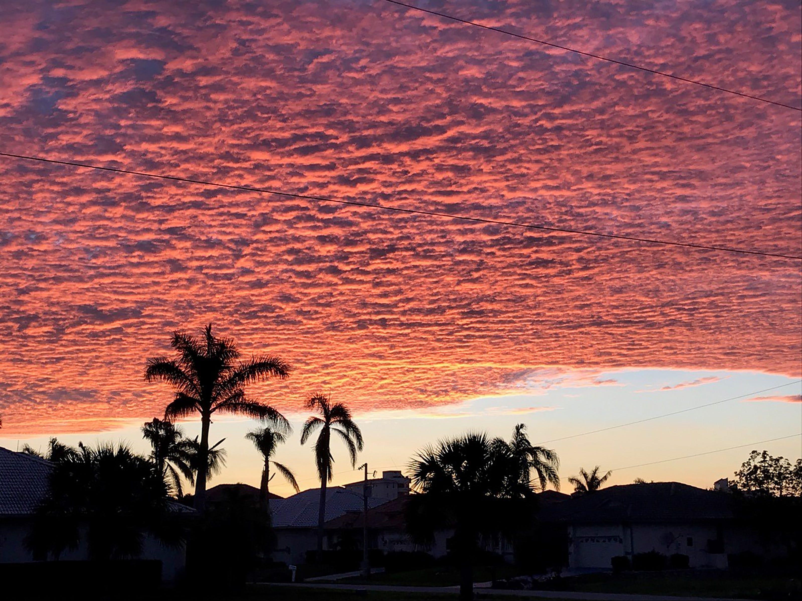 Sunrise on Marco Island.