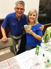 On Thursday, Jan. 31, the Knights of Columbus San Marco Council #6344 hosted a Bingo fundraiser in the San Marco Parish Center. The big jackpot winner was Cathy Poulin from Canada.
