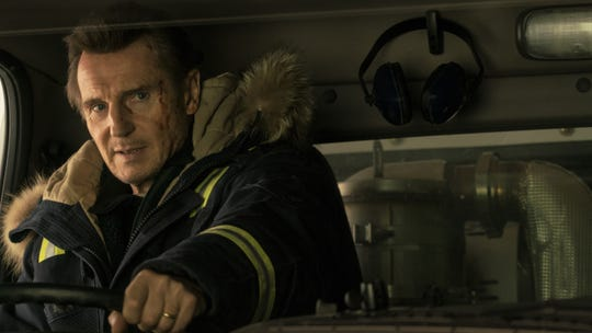 "Liam Neeson plays a grieving father with a particular set of skills, and a need for revenge, in ""Cold Pursuit."""