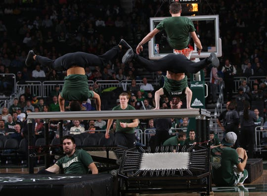 The Bucks Trickers, who entertain at Milwaukee Bucks home games at Fiserv Forum, will participate in NBA All-Star Weekend activities.