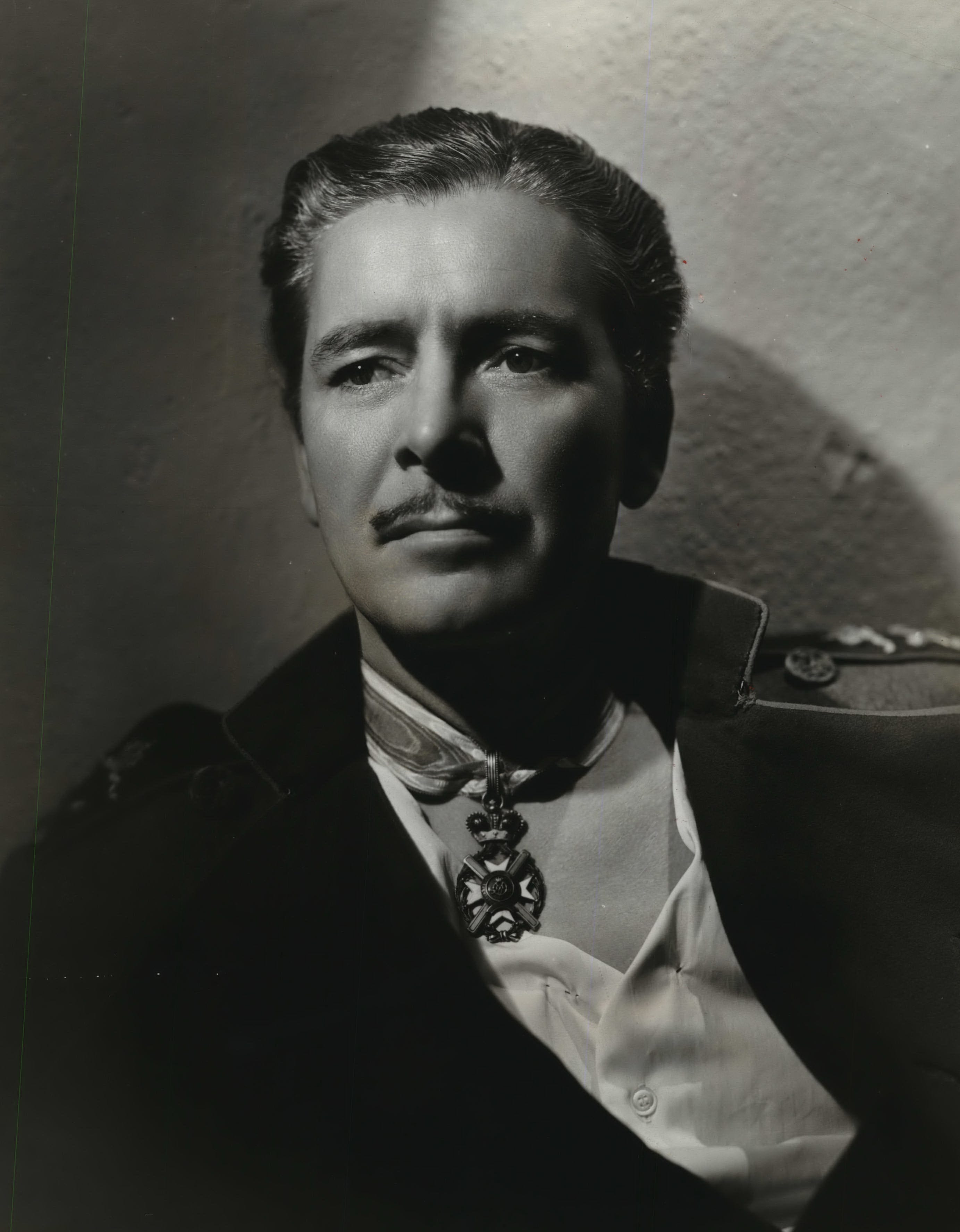 "Ronald Colman plays a king and his double in ""The Prisoner of Zenda."""