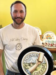 Ron Henningfeld makes cheddar, Gouda and cheese curds for his Hill Valley Dairy.