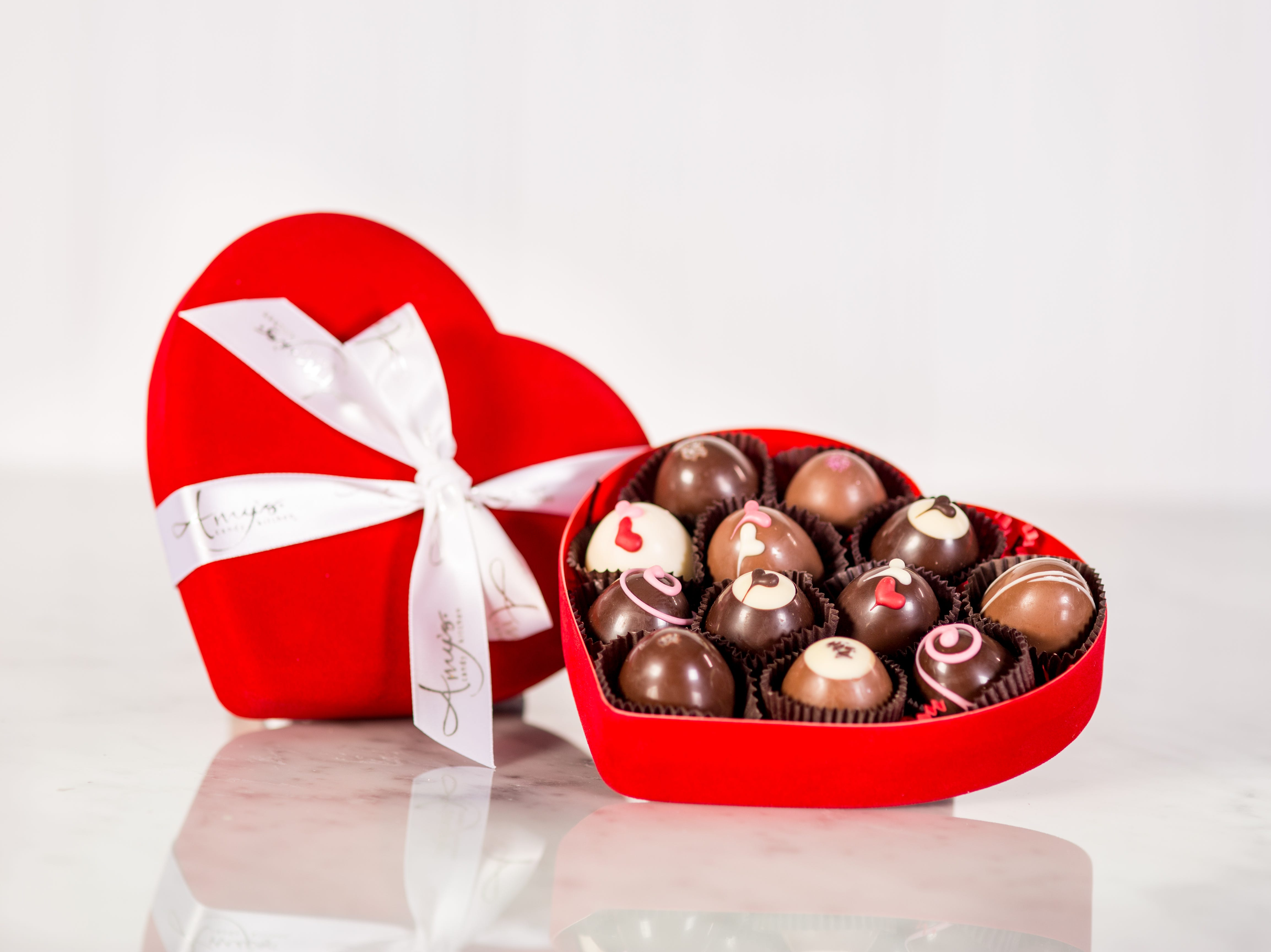 Amy's Candy Kitchen in Cedarburg prides itself on its high-end chocolates.