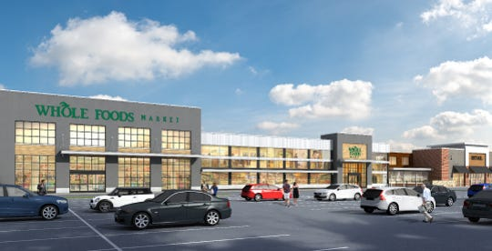A rendering of the Waterview Marketplace under construction on Route 46 in Parsippany. Scheduled to open late 2019.