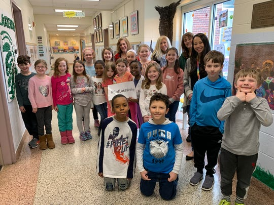Denville's Lakeview Elementary School awards laminated paws to encourage a sense of community each Friday, just one reason it was named a 2019 State School of Character.