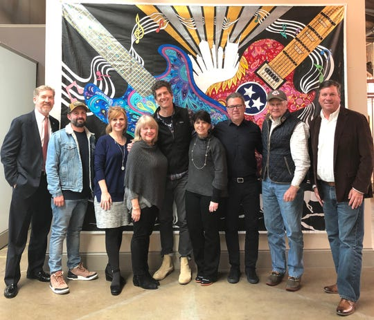 Pictured, from left, are Ashley Hill, Trace Ayala, Torrey Barnhill, Mary Pearce, Kevin Griffin (Pilgrimage co-founder), Ellie Westman Chin, Brandt Wood (Pilgrimage co-founder), David Landrum and Mike Alday. Not pictured are advisory board members Robert Blair, Bill Johnson and Andy Marshall and Pilgrimage co-founder Michael Whelan.