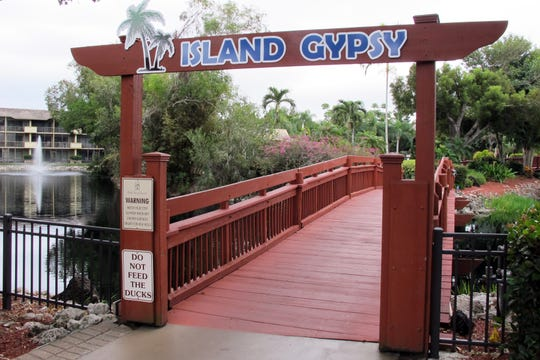 The Island Gypsy Poolside Cafe provides a tropical oasis at Park Shore Resort in Naples.