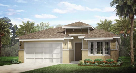 Ashbury rendering in Half Moon Point at Naples Reserve.