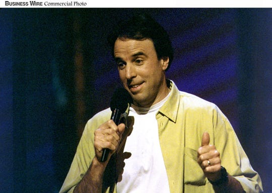 "- Kevin Nealon was a nine-year cast member on ""Saturday Night LIve."" He brings his standup to Naples at Off The Hook Comedy Club from Feb. 14-17, 2019."